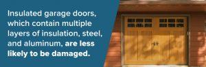 insulated garage door extra durability Twin Cities